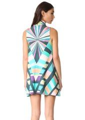 Mara Hoffman Prism Turtleneck Swing Dress
