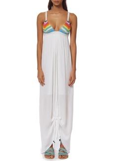 Mara Hoffman 'Prismatic' Cotton Cover-Up Maxi Dress