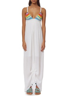 Mara Hoffman 'Prismatic' Cotton Cover-Up Maxi Dress