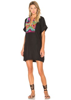 Mara Hoffman Radial Embroidery Tunic Dress