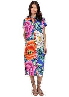 Mara Hoffman Rayon Button Down Dress