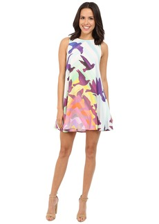 Mara Hoffman Rayon Swing Mini Dress