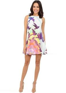 Mara Hoffman Rayon Swing Mini Dress