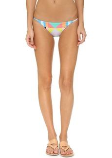 Mara Hoffman Reversible Spaghetti Side Bikini Bottoms