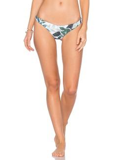 Mara Hoffman Ruched Brazilian Bikini Bottom