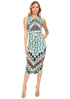 Mara Hoffman Rug Ponte Midi Dress