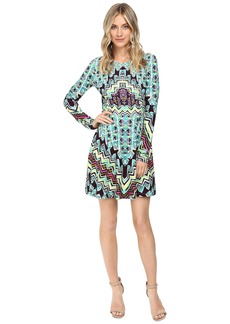 Mara Hoffman Rug Ponte Mini Dress