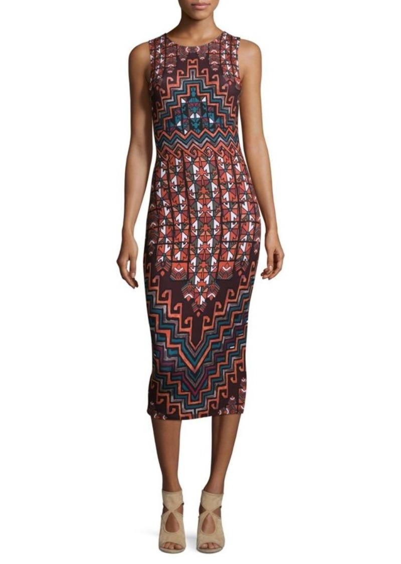 Mara Hoffman Rug Printed Midi Dress