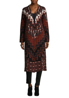Mara Hoffman Rug Sweater Coat