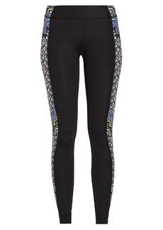 Mara Hoffman Rugs-print panelled performance leggings