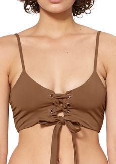 Mara Hoffman Scarlett Bikini Top