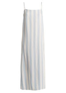 Mara Hoffman Sena square-neck striped dress