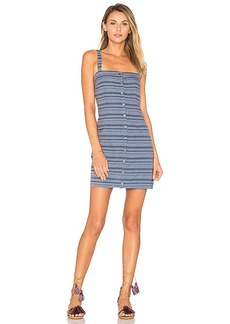 Mara Hoffman Sheath Mini Dress in Blue. - size 0 (also in 2,4,6,8)