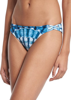Mara Hoffman Shells Basketweave Swim Bottom