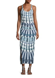 Mara Hoffman Shells Racerback Midi Coverup Dress