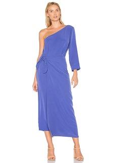 Mara Hoffman Shirley One Shoulder Dress in Purple. - size 0 (also in 2,4,6,8)