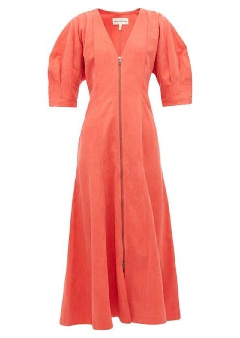 Mara Hoffman Sophie zip-front midi dress