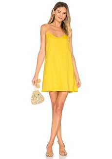 Mara Hoffman Spaghetti Mini Dress in Yellow. - size 0 (also in 2,4)