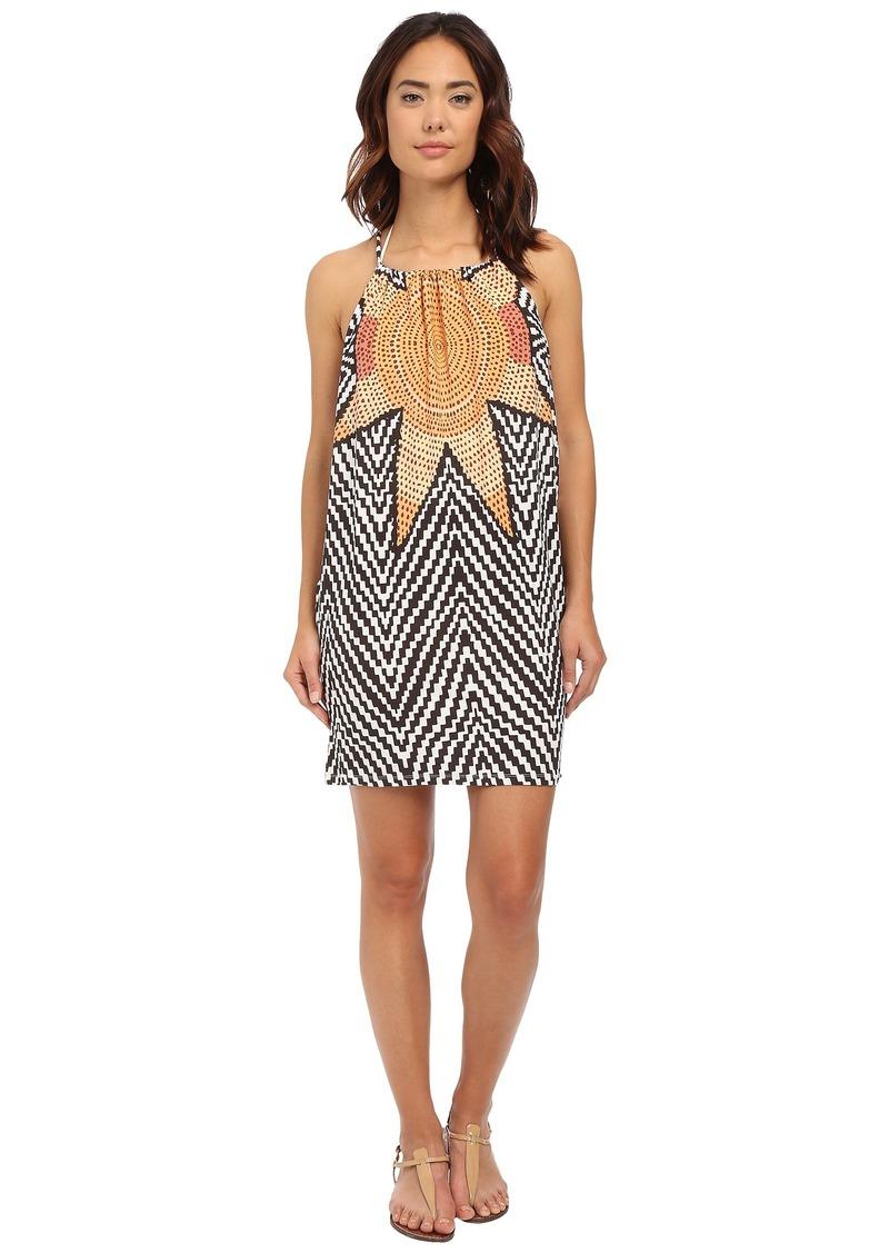 Mara Hoffman Starbasket Drape Side Dress