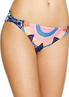 Mara Hoffman Starbasket Navy Reversible Hipster Bikini Bottom