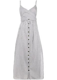 Mara Hoffman striped dress - Black