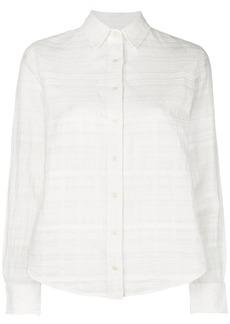 Mara Hoffman textured button down shirt - White