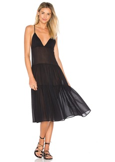 Mara Hoffman Tiered Ankle Dress