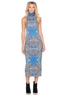 Mara Hoffman Turtleneck Dress