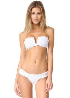 Mara Hoffman V Wire Bikini Top