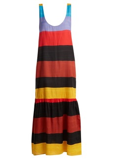 Mara Hoffman Valentina scoop-neck striped dress