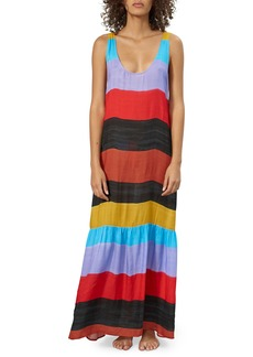 Mara Hoffman Valentina Stripe Cover-Up Dress
