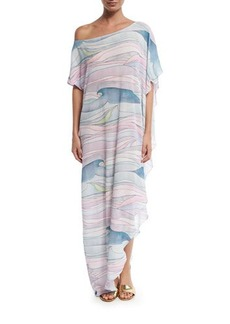 Mara Hoffman Wave Gauze Coverup Maxi Dress