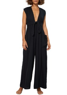 Mara Hoffman Whitney Organic Cotton Cover-Up Jumpsuit