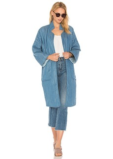 Mara Hoffman Winona Jacket in Blue. - size L (also in M,S,XS)