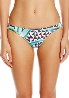 Mara Hoffman Women's Aloe Reversible Low Rise Bikini Bottom