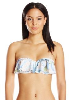 Mara Hoffman Women's Aloe Ruffle Bandeau Bikini Top