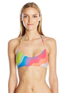 Mara Hoffman Women's Aura Light Basket Weave Bikini Top