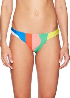 Mara Hoffman Women's Beach Ball Low Rise Bikini Bottom  M