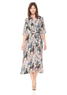 Mara Hoffman Women's Berta Button Down Belted Dress