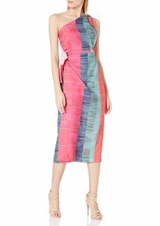 Mara Hoffman Women's Bette One Shoulder Midi Dress