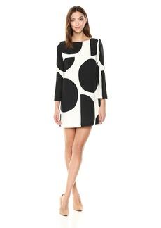 Mara Hoffman Women's Billie Mod Dress White and Black Polka Dots XS