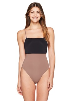 Mara Hoffman Women's Color Block Combo One Piece Swimsuit  XS