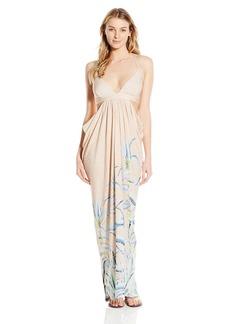 Mara Hoffman Women's Cut Out Draped Cover Up Maxi Dress