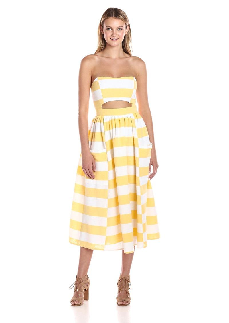 Mara Hoffman Mara Hoffman Women S Cut Out Midi Dress Dresses