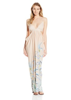 Mara Hoffman Women's Cutout Draped Maxi Cover Up Dress
