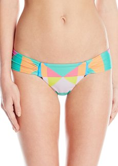 Mara Hoffman Women's Diamonds Side Ruched Bikini Bottom