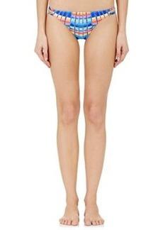 Mara Hoffman Women's Double Spaghetti Side Bikini Bottom