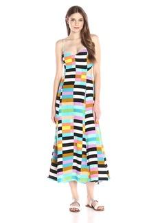 Mara Hoffman Women's Flag Stripe Rainbow Maxi Dress