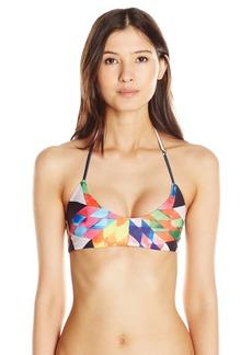 Mara Hoffman Women's Fractals Basket Weave Bikini Top