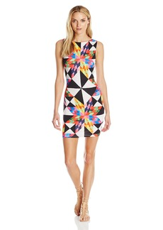Mara Hoffman Women's Fractals Cut Out Back Mini Dress